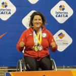 Francisca Mardones es la gran figura chilena en el Open Caixas de Atletismo Paralímpico