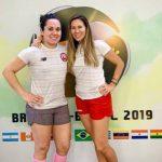 Giselle Delgado y Ana María Pinto disputarán la final de dobles femenino en el Sudamericano de Squash