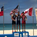 Diego Moya ganó medalla de plata en el Bridgetown CAMTRI Sprint Triathlon American Cup