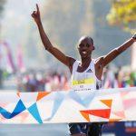 Jacob Chulyo y Gladys Jepkemoi ganaron el Maratón de Santiago 2019