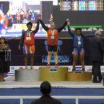 María Fernanda Valdés ganó una medalla de oro y dos de plata en el Panamericano de Levantamiento de Pesas