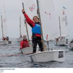 Rafaela Salvatore logra medalla de bronce y título femenino en el Sudamericano de Veleros Optimist