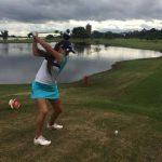 Antonia Matte destacó en la primera jornada del Abierto Juvenil de Paraguay