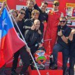 Benjamín Hites terminó segundo en el inicio de la tercera fecha del Ferrari Challenge