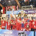 CD Valdivia se coronó campeón de la Liga Nacional de Básquetbol 2018-2019