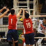 La Roja del Volleyball Masculino dio dura pelea ante Portugal en Puente Alto