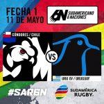 Chile enfrentará este sábado a Uruguay por la primera fecha del Sudamericano de Rugby 6 Naciones