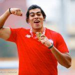 Claudio Romero ganó medalla de bronce en el primer día del Sudamericano de Atletismo