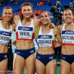 Cuarteta 4x400 femenina logra nuevo récord de Chile y disputará la Final B en el Mundial de Relevos