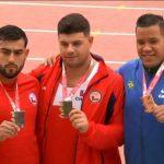 Con tres nuevas medallas se cerró la participación chilena en el Sudamericano de Atletismo