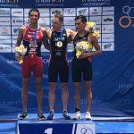 Gaspar Riveros ganó medalla de plata en el CAMTRI American Cup de Ecuador
