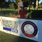 Lukas Roessler ganó su categoría en el Abierto Juvenil de Paraguay