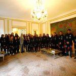 La Roja Femenina fue recibida por el embajador de Francia en Chile