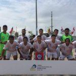 Selección Chilena de Fútbol Playa derrotó a Venezuela y jugará por el séptimo lugar de las clasificatorias sudamericanas