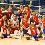 Chile derrotó a USA y avanzó a las semifinales de la Copa Panamericana U21 de Volleyball Masculino