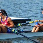 Antonia y Melita Abraham fueron novenas en la Copa del Mundo II de Remo