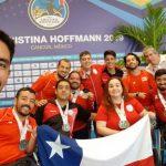 Chile sumó 15 medallas en el Open de Cancún de Tenis de Mesa Paralímpico