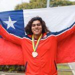 Claudio Romero y Javiera Bravo ganan medalla de oro en el Sudamericano Sub 20 de Atletismo