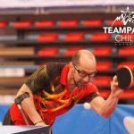 Chile suma tres medallas en la competencia individual del Open de Tenis de Mesa Paralímpico de Polonia