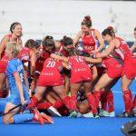 """Las """"Diablas"""" se quedaron con la medalla de bronce en el Hockey Series Final"""
