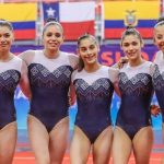 Equipo chileno femenino ganó medalla de plata en el Sudamericano de Gimnasia Artística