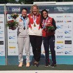 María José Mailliard ganó medalla de bronce en la Copa del Mundo de Canotaje de Duisburg