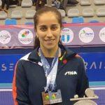 Paulina Vega obtuvo medalla de plata en el singles femenino del Latinoamericano de Tenis de Mesa