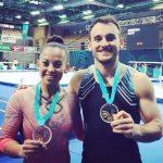 Tomás González y Franchesca Santi ganan oro y bronce en el World Challenge de Eslovenia