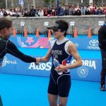 Bárbara Riveros finalizó quinta en el triatlón de Lima 2019