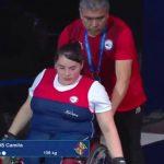 Camila Campos obtuvo el quinto lugar en el Mundial de Parapowerlifting