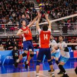 La Roja del Voleyball Masculino tuvo una gran despedida antes de partir a Lima 2019