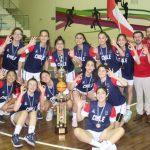 Chile ganó medalla de bronce en el Sudamericano Sub 14 de Básquetbol Femenino