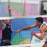 Primos Grimalt ganan en nueva jornada del volleyball playa de los Panamericanos