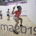 Chile cerró su participación en el squash de Lima 2019