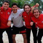 Chile obtuvo el lugar 13 en el Mundial por Equipos de Tenis Playa