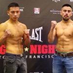 Se realizaron los pesajes para el debut de Diego Rivas en el boxeo profesional