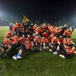 Felinos de La Florida se coronó tetracampeón U21 del football americano chileno