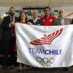 Felipe Miranda será el abanderado de Chile en los Juegos Panamericanos