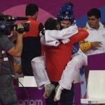 Fernanda Aguirre e Ignacio Morales ganan medallas de bronce en el taekwondo de Lima 2019