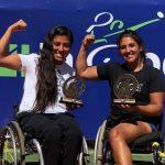 Macarena Cabrillana se tituló campeona de dobles en el ITF 2 de Brasilia