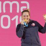 María Fernanda Valdés ganó medalla de oro en el levantamiento de pesas de Lima 2019