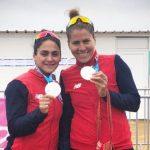 María José Mailliard y Karen Roco ganan medalla de plata en el canotaje de Lima 2019