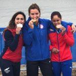 María José Mailliard logra medalla de plata en el cierre del canotaje de Lima 2019