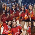 """Las """"Marcianitas"""" se quedaron con la medalla de bronce en los World Roller Games"""