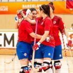 """Las """"Marcianitas"""" derrotan a Suiza y esperan rival para los cuartos de final de los World Roller Games"""