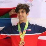 Nicolás Numair gana medalla de bronce en el Panamericano Sub 20 de Atletismo