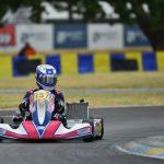 Nicolás Pino finalizó la temporada Europea del CIK FIA