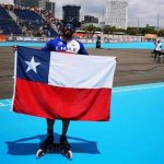 Ricardo Verdugo ganó medalla de bronce en los World Roller Games