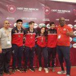 Delegación nacional obtuvo tres medallas en el Panamericano Cadete de Lucha Olímpica