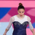Simona Castro obtuvo el lugar 14 en la final del all around femenino en Lima 2019
